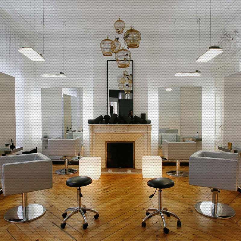 Приклад інтер'єра салона краси